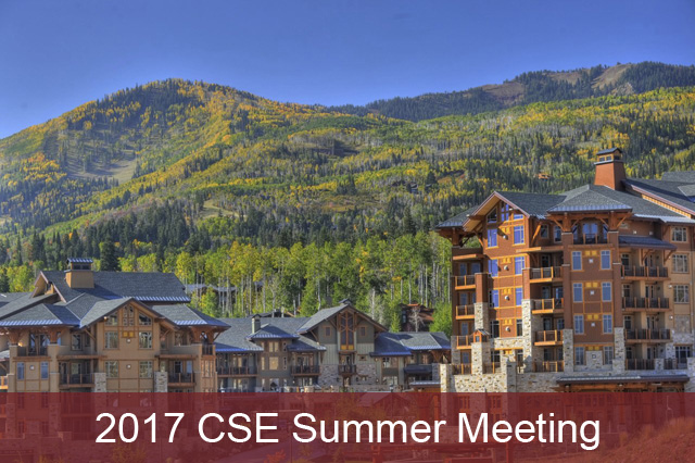 2017 CSE Summer Meeting