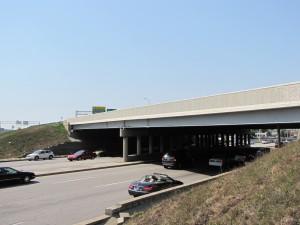 Castleton, Indiana bridge. Photo courtesy of AZZ Galvanizing Services.