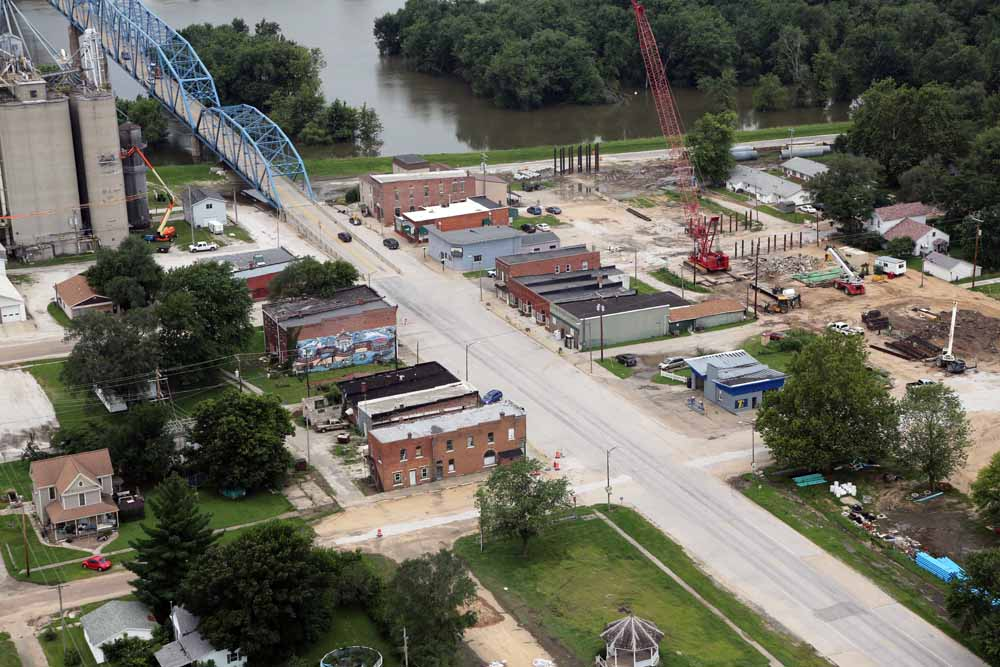 Bridge replacement through Main Street in Meredosia, Ill.